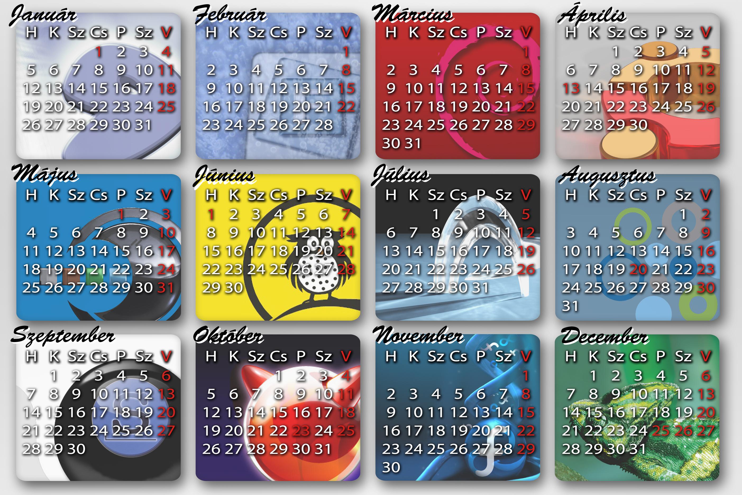 unix 2009 naptár Linux naptár | HUP unix 2009 naptár