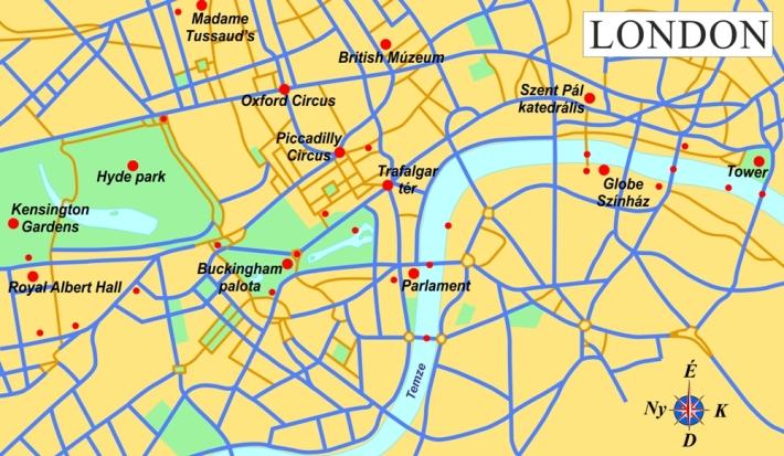 london látnivalók térkép Főoldal   London látnivalói london látnivalók térkép
